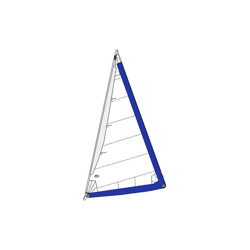 Catalina 27 Standard OEM Style 150% Furling Genoa with White
